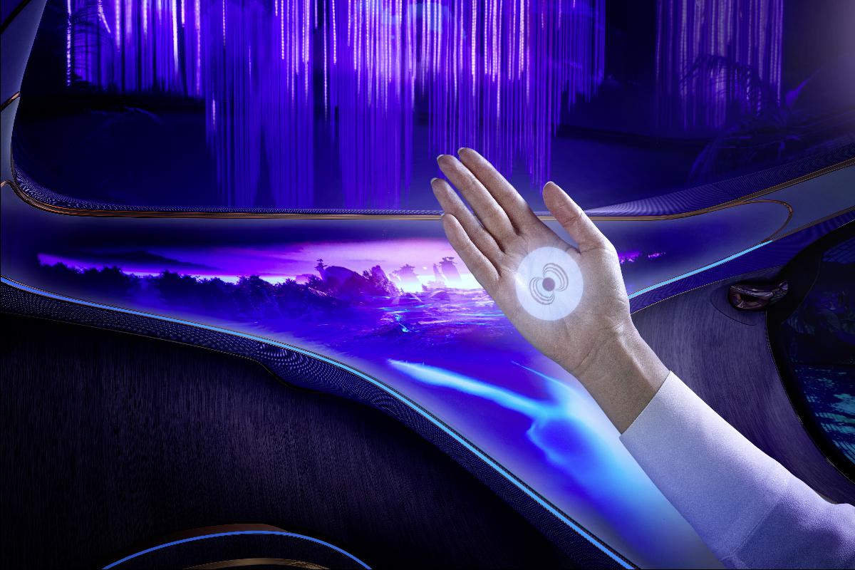Mercedes-Benz une-se à equipa do Avatar para criar carro do futuro
