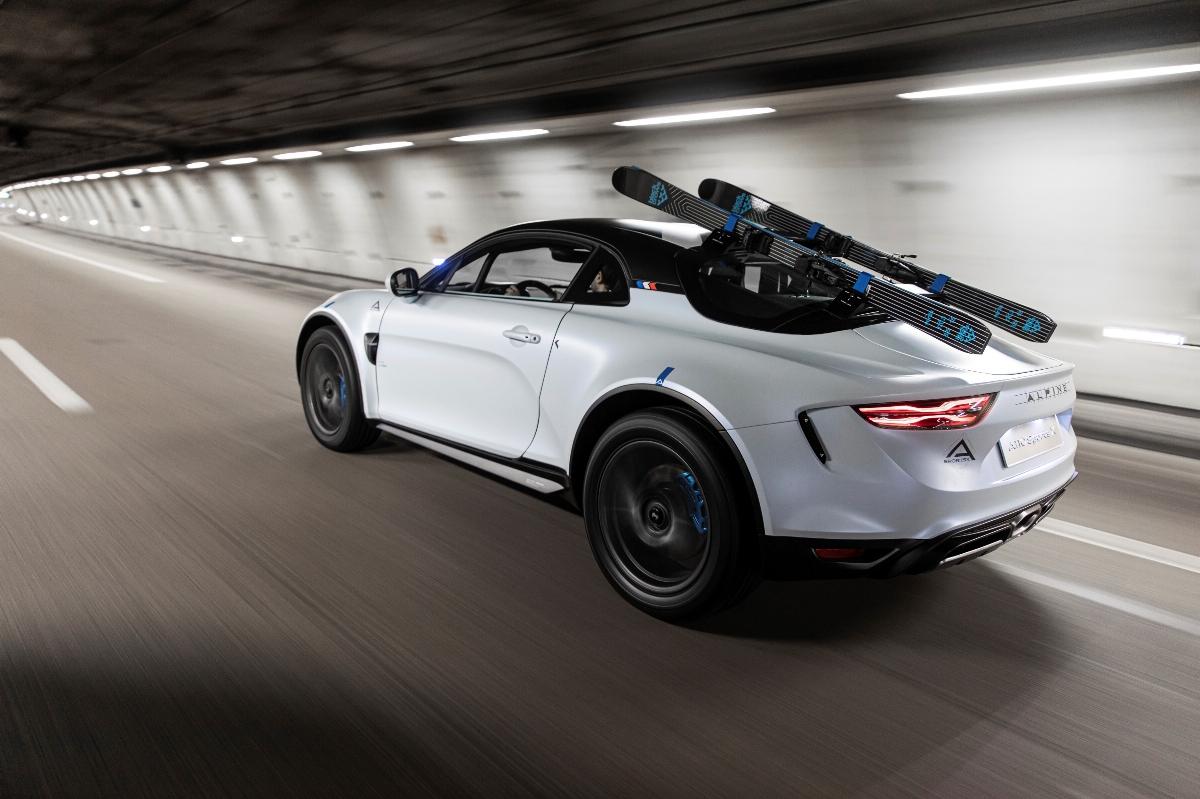 Alpine A110 SportsX, o protótipo do desportivo que está pronto para a neve