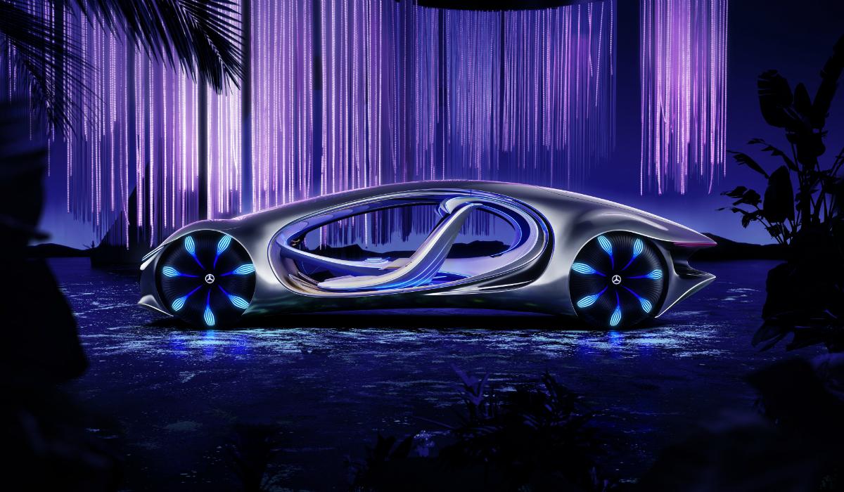 Mercedes-Benz une-se à equipa de Avatar para criar carro do futuro