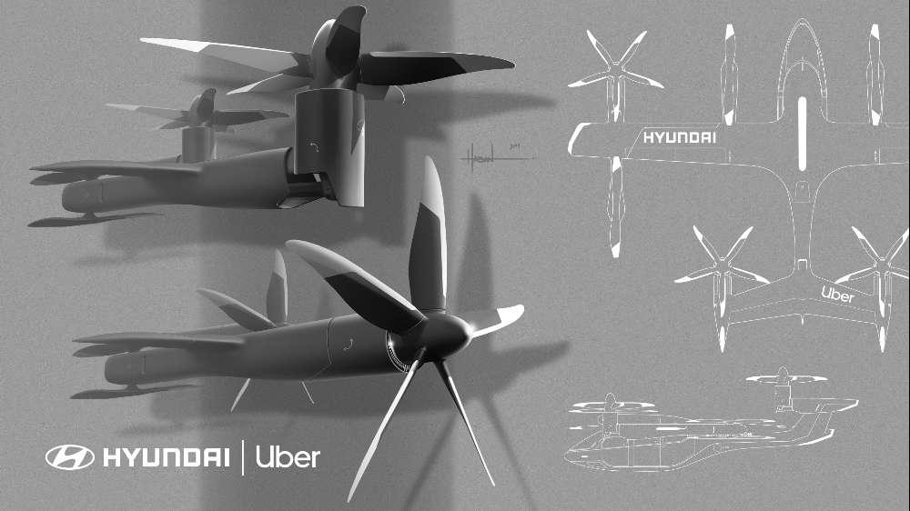 Hyundai e Uber vão aos céus com o novo concept