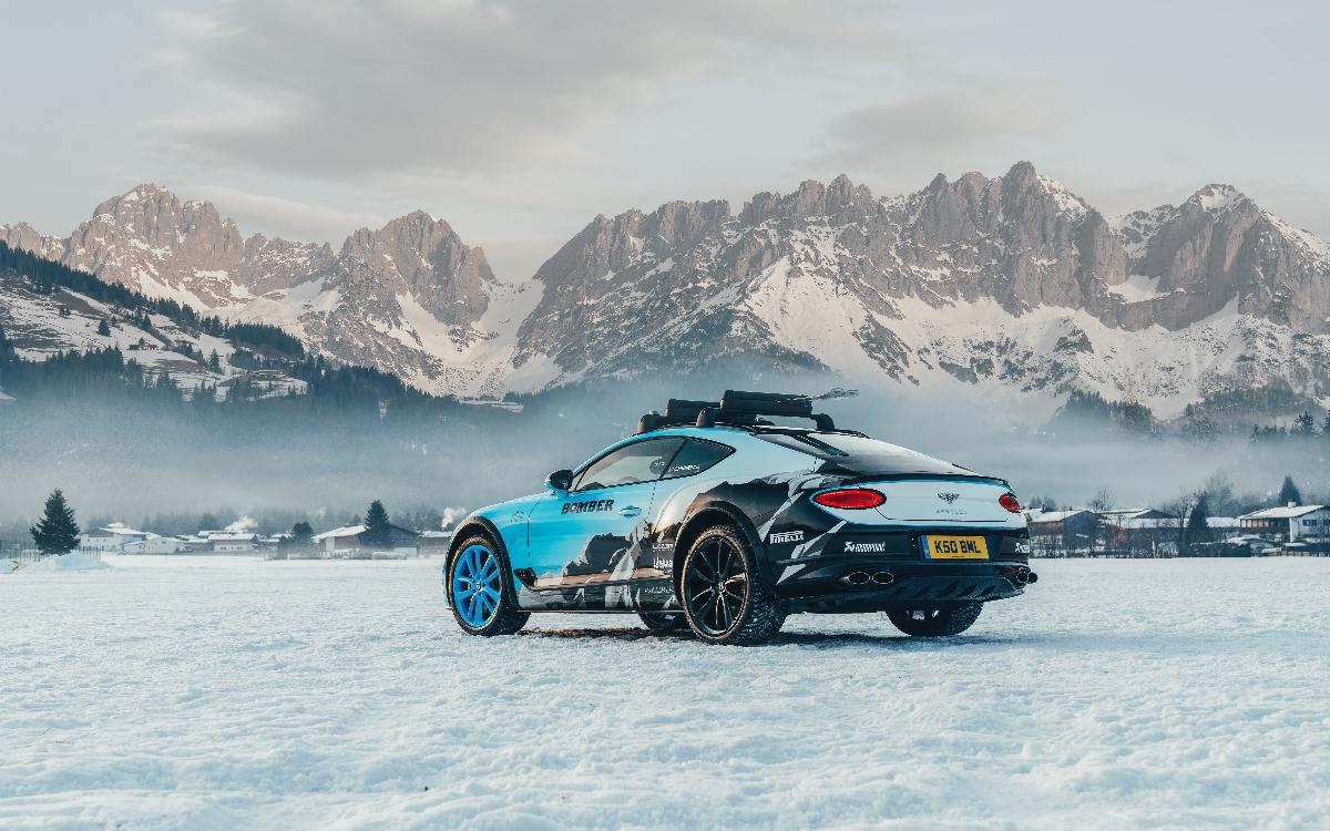 Bentley mostra Continental GT W12 preparado para brilhar no gelo