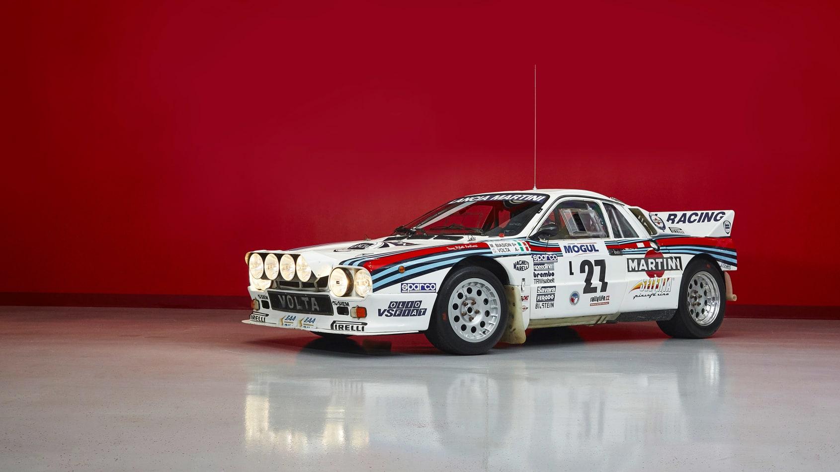 Esta coleção de seis Lancia com as cores da Martini está à venda
