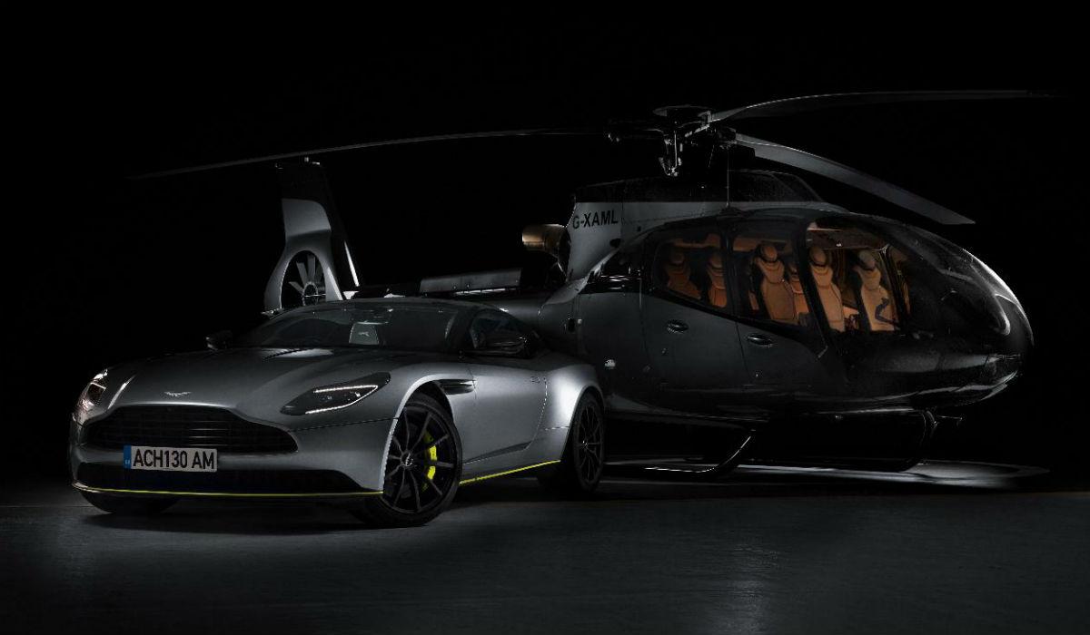 Aston Martin e Airbus uniram-se e construíram um exclusivo helicóptero