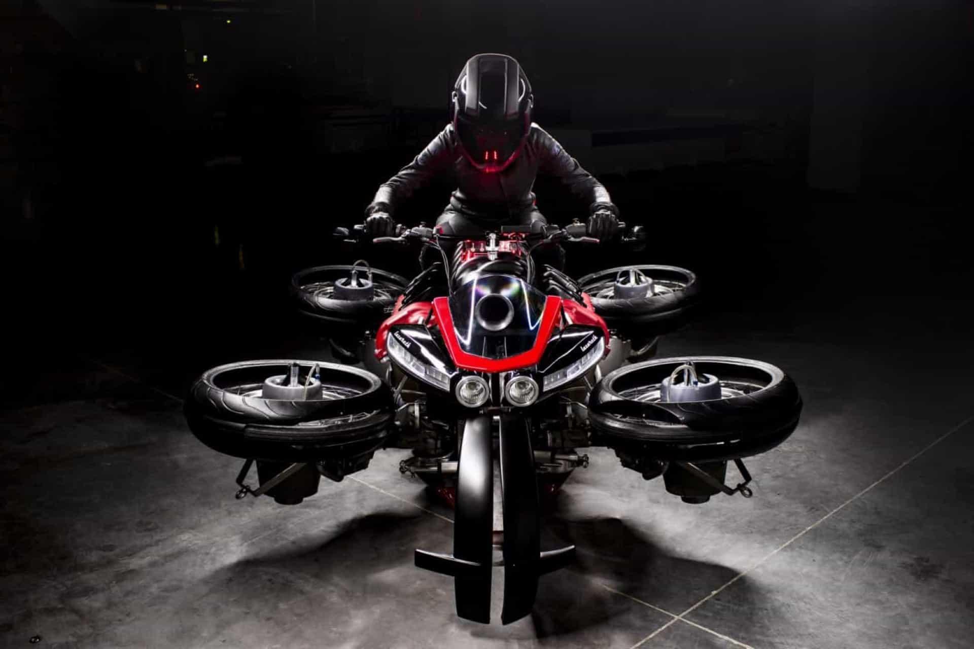 LVM 496, a novo moto elétrica que também consegue voar
