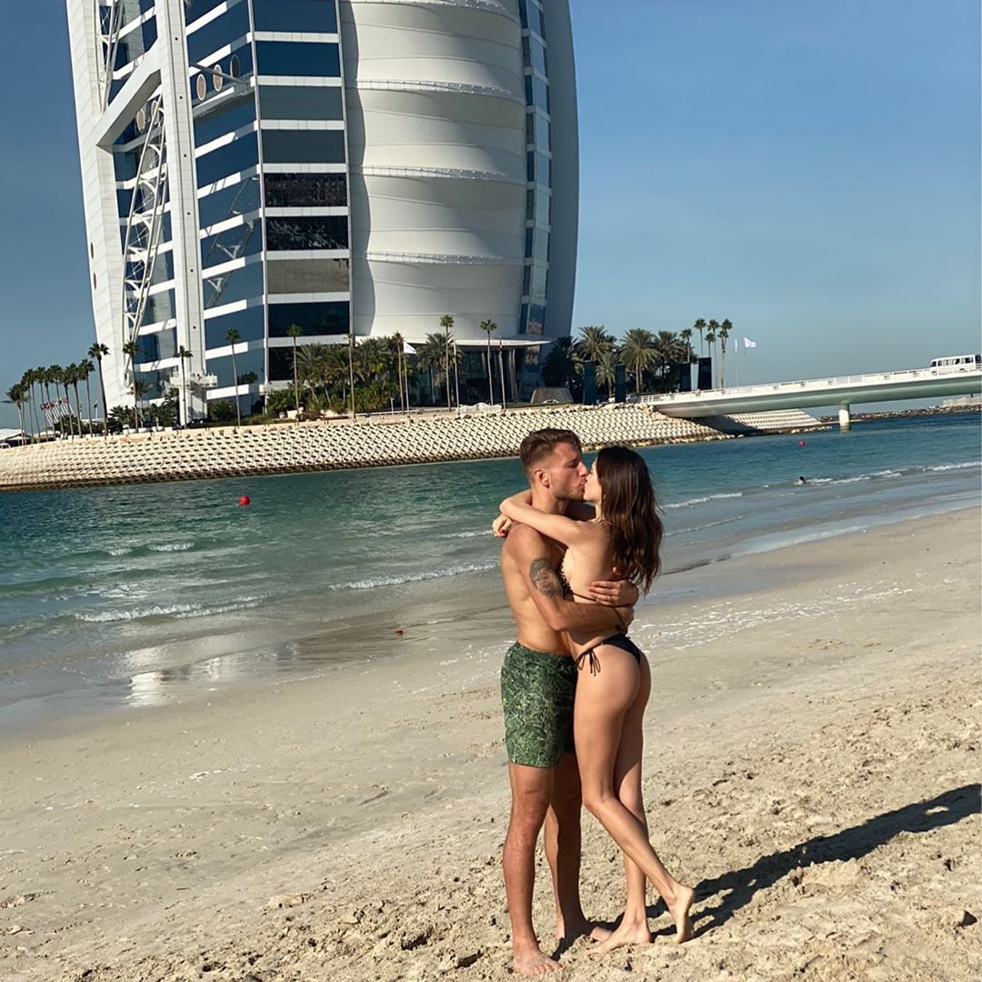 Ciro Immobile, o goleador que se inspira na modelo que conheceu nas redes sociais