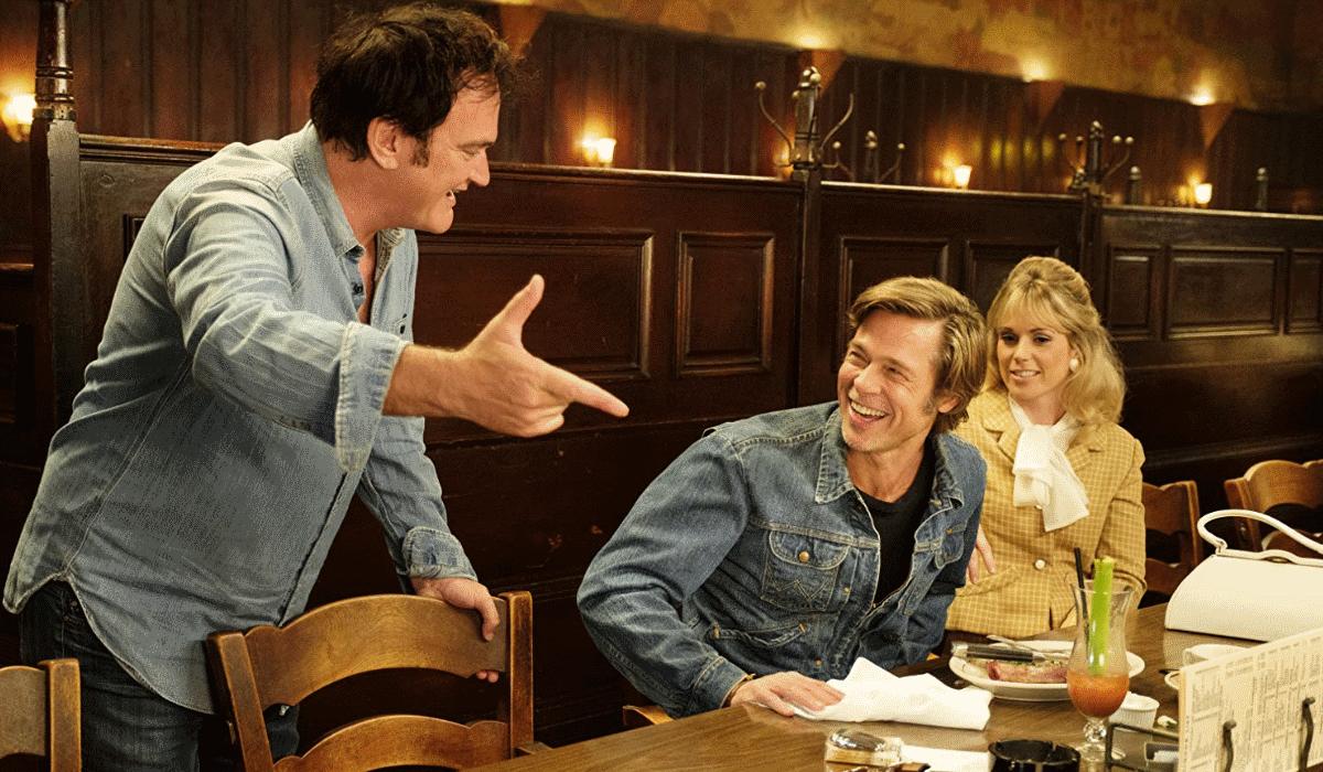 Brad Pitt diz que Tarantino é a única pessoa que precisa de cocaína para parar de falar