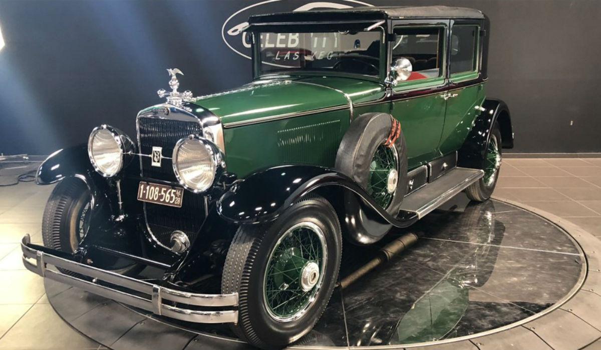 Cadillac blindado que pertenceu a Al Capone está à venda