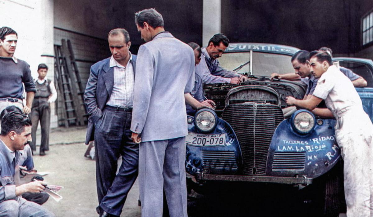 Juan Manuel Fangio, a lenda da Fórmula 1 vai ter documentário