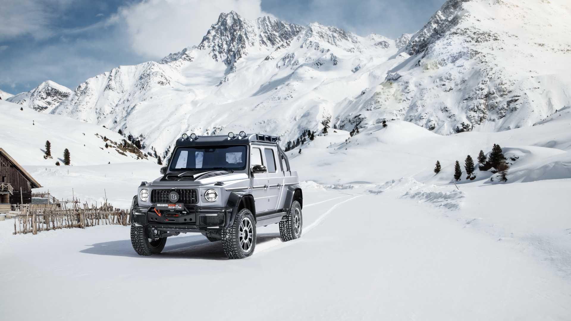 Brabus 800 Adventure XLP, a modificação que custa mais de meio milhão de euros