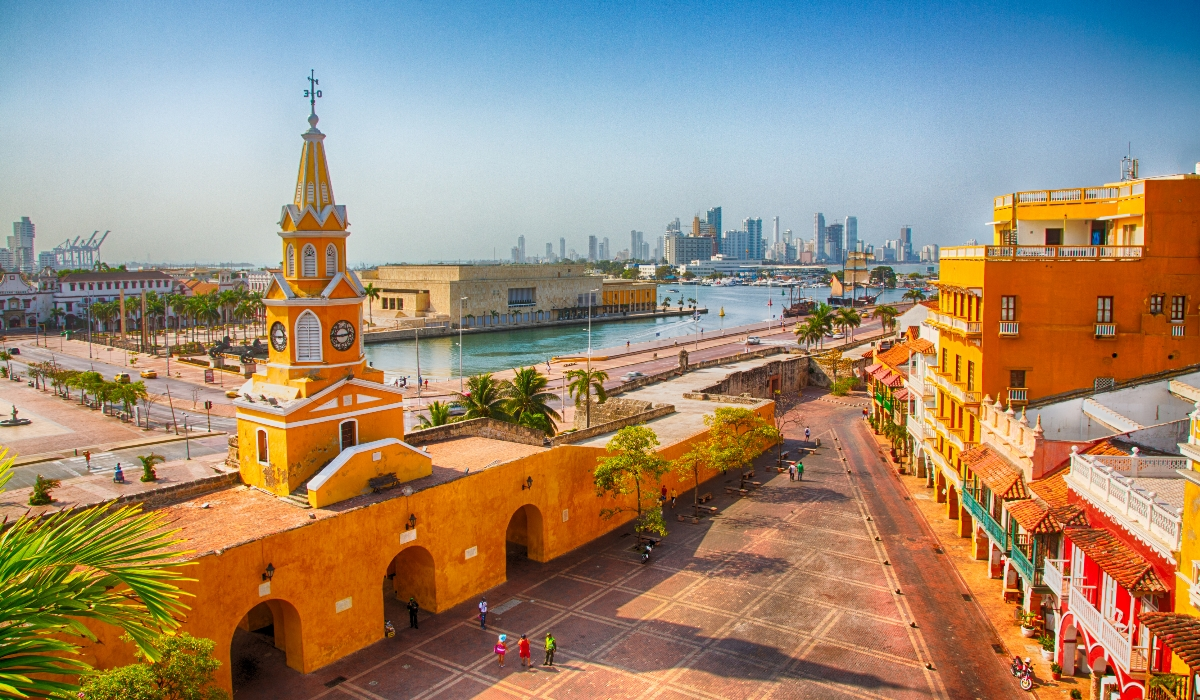 Cartagena das Índias, uma cidade histórica que é a quarta maravilha da Colômbia