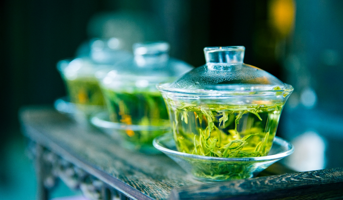 Descubra aquilo que o chá verde pode fazer pelo seu treino