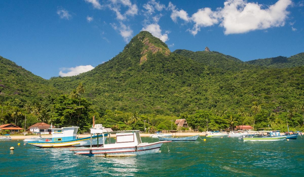 O paraíso de tranquilidade que fica a 150 quilómetros do Rio de Janeiro