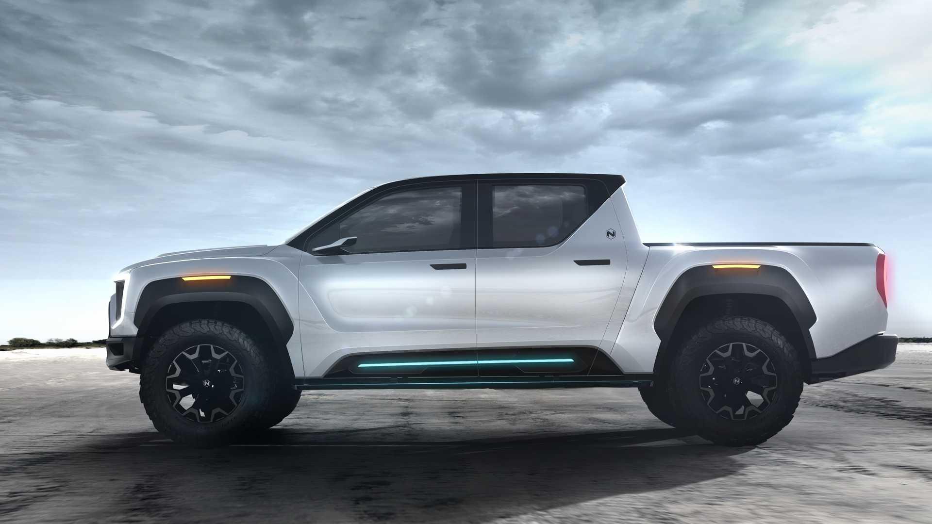 Nikola apresenta pick-up elétrica que promete mais de 900 km de autonomia