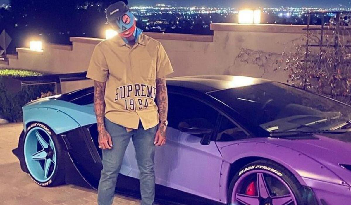 Chris Brown, o músico que gosta de carros extravagantes e únicos