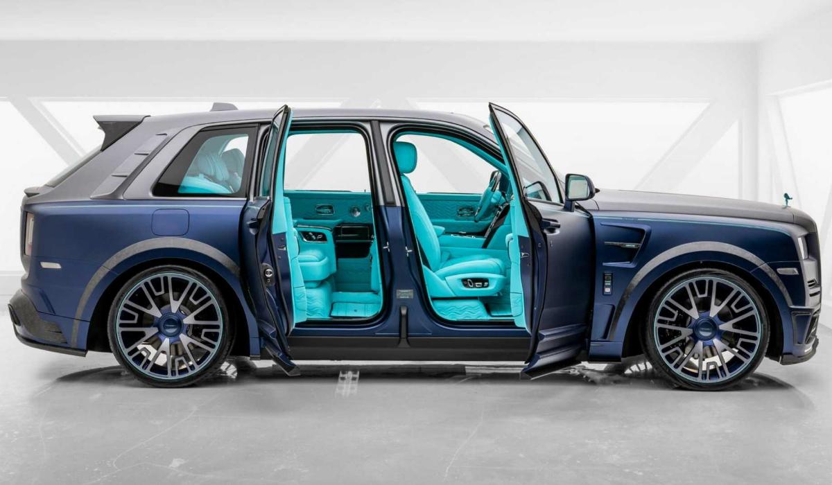 Este Rolls-Royce Cullinan é a verdadeira excentricidade sobre rodas