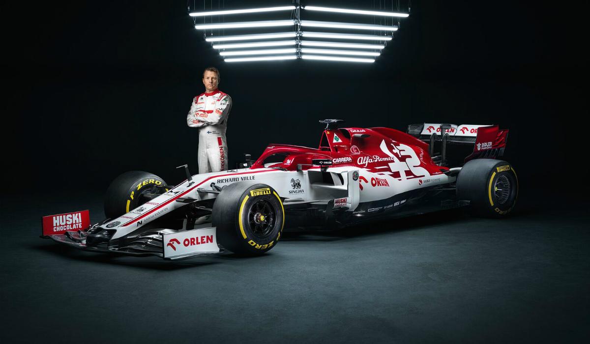 Kimi Raikkonen otimista para primeira prova de Fórmula 1 em 2020