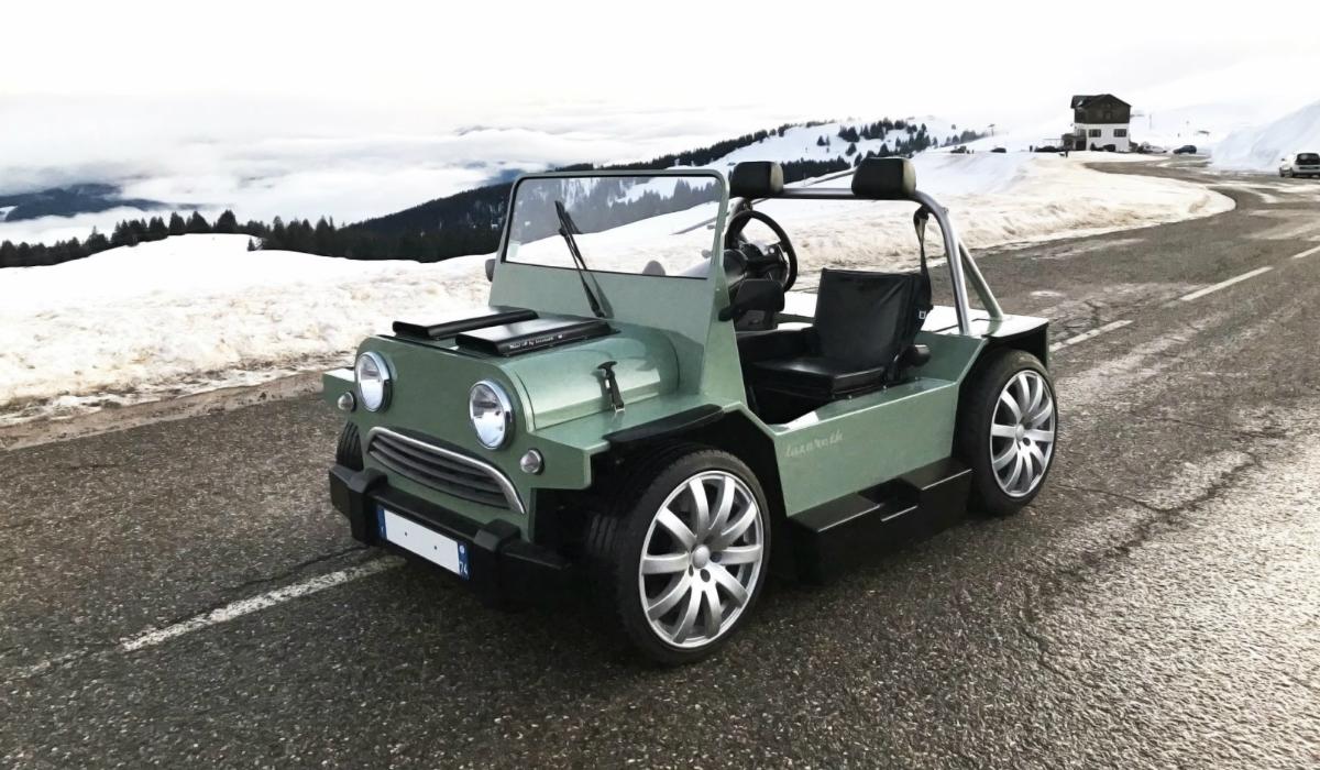 O Mini Moke radical que tem motor V8 de um Maserati