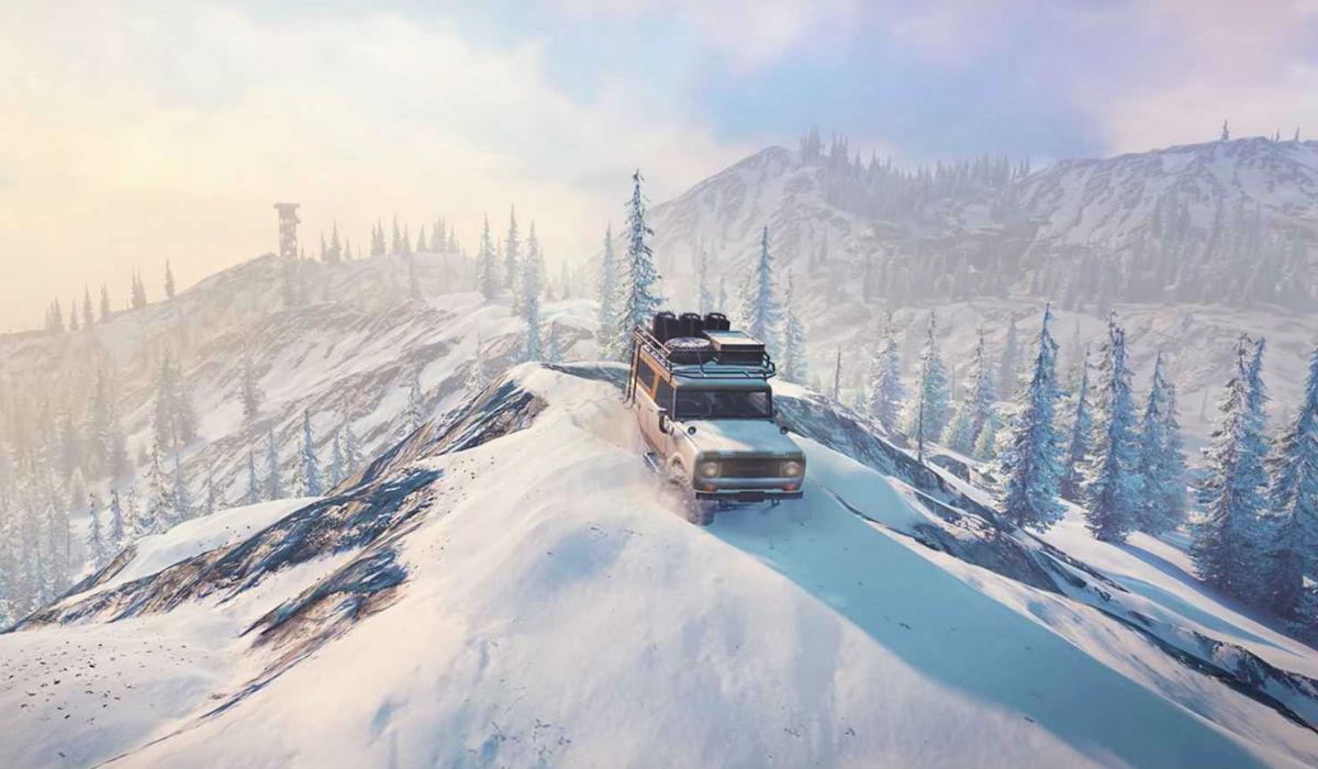 SnowRunner, o jogo de mapa aberto com jipes e camiões radicais