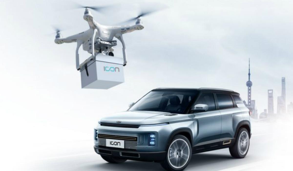 Geely faz uso da tecnologia e recorre a drone para entregar chaves aos clientes