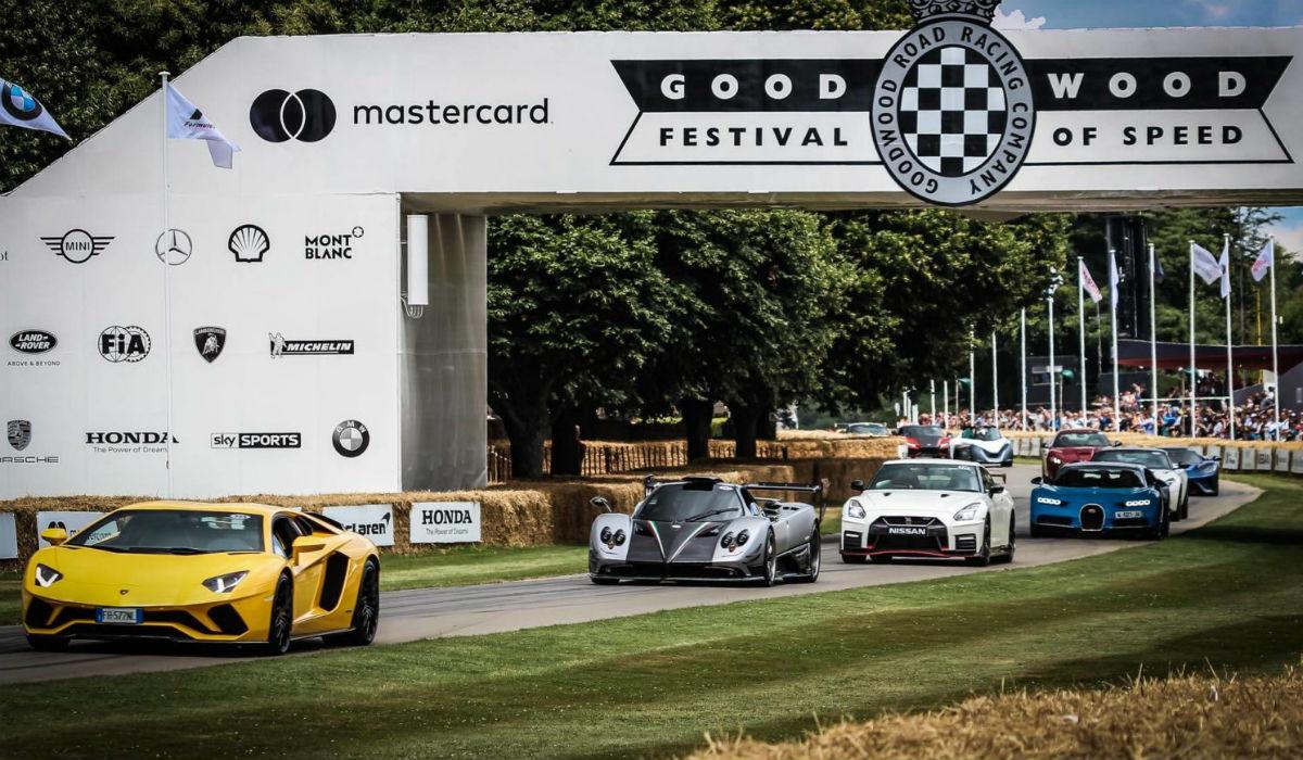 Goodwood Festival of Speed adiado devido ao coronavírus