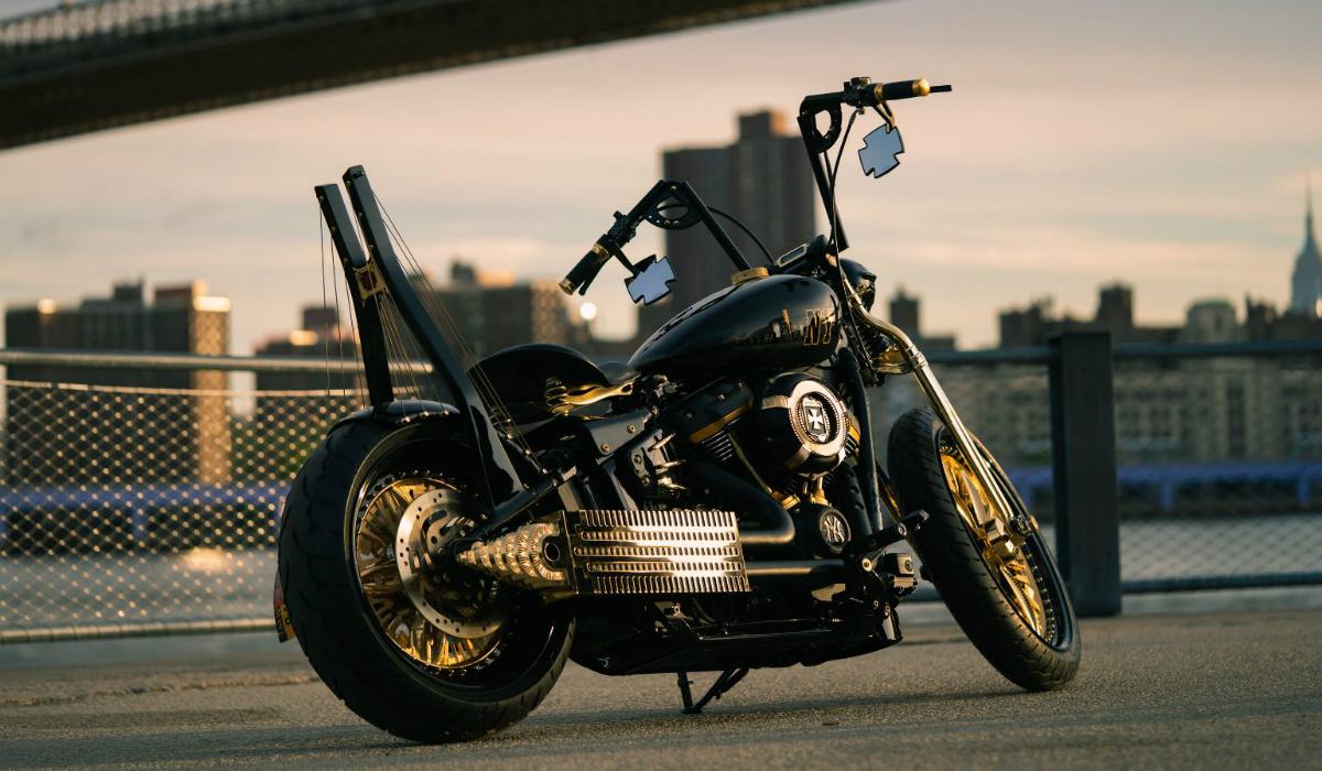 Harley-Davidson personalizada presta homenagem a Nova Iorque