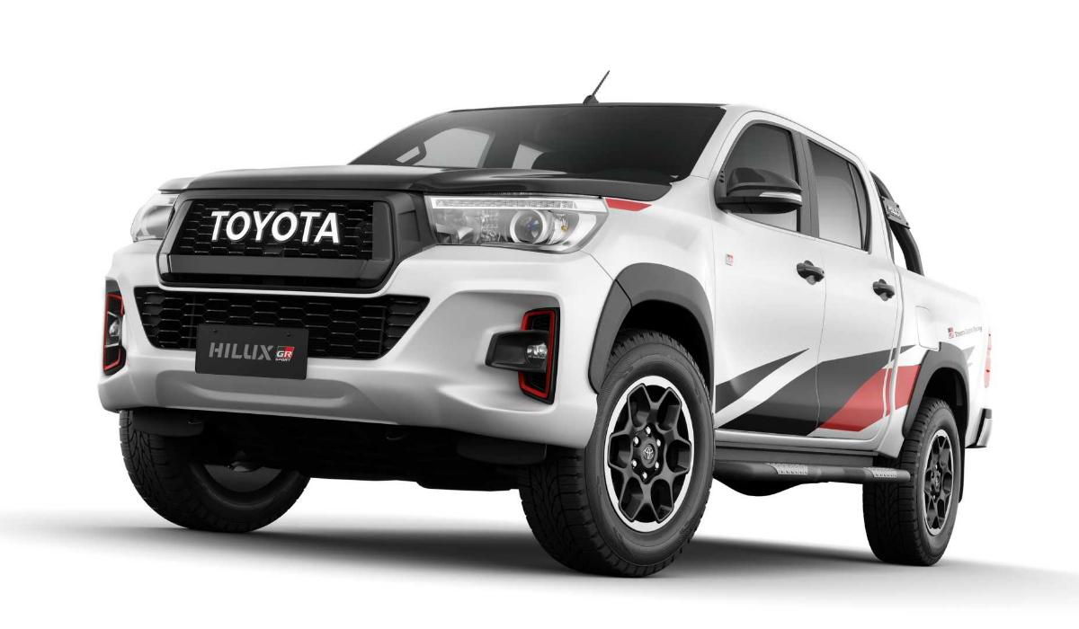Toyota está a desenvolver versão desportiva da Hilux para rivalizar com a Ranger Raptor