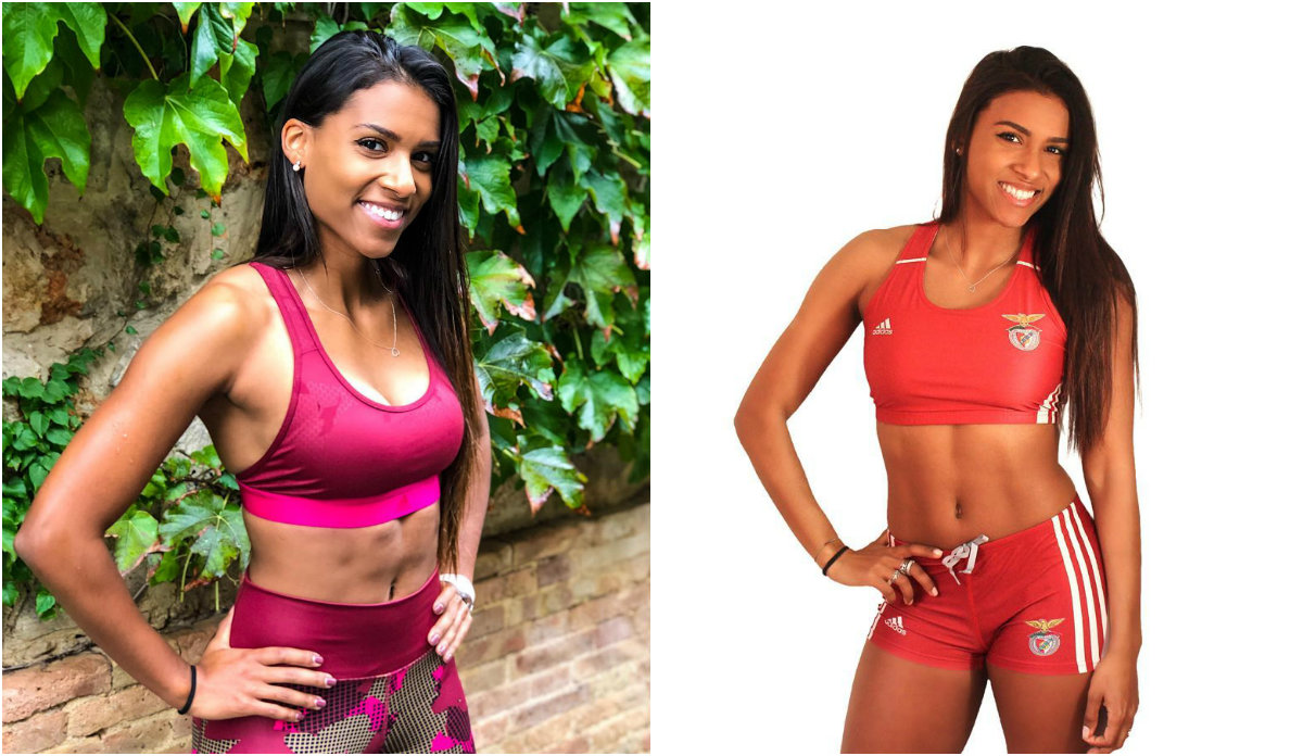 Teresa Vaz Carvalho, a atleta do Benfica que mete o Instagram todo a fazer exercício