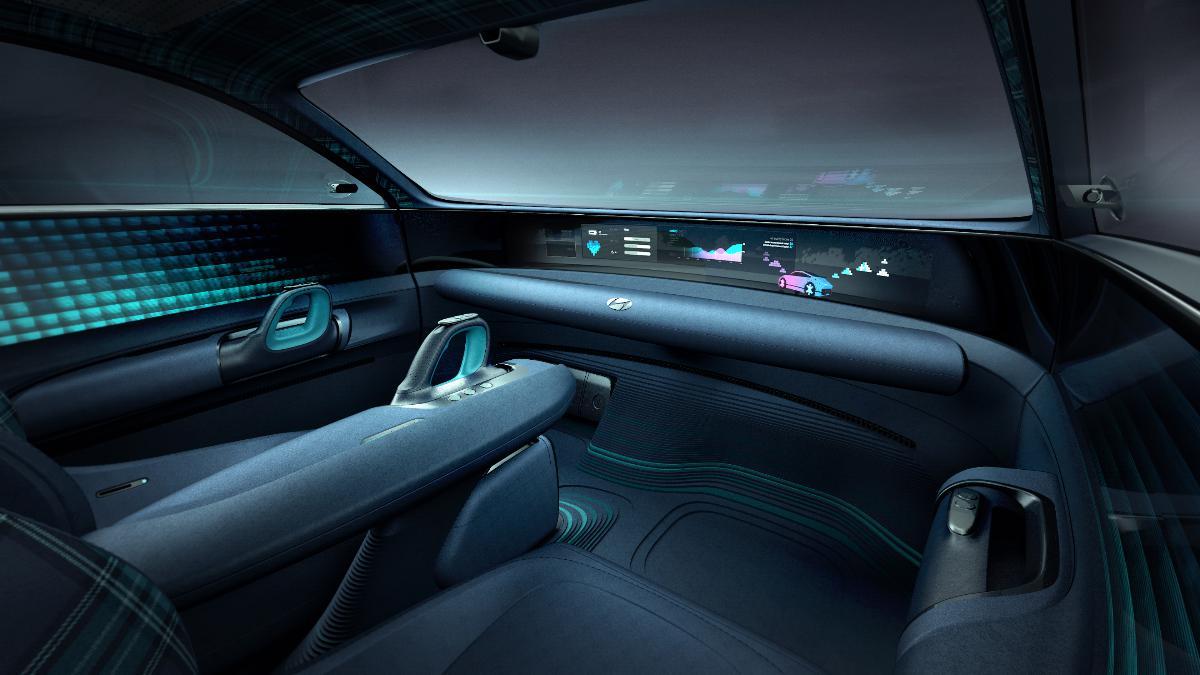 Hyundai Prophecy, o protótipo elétrico que dispensa volante tradicional