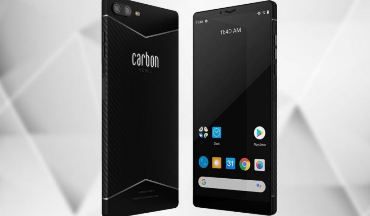 Carbon 1 Mark II, o primeiro smartphone feito de fibra de carbono