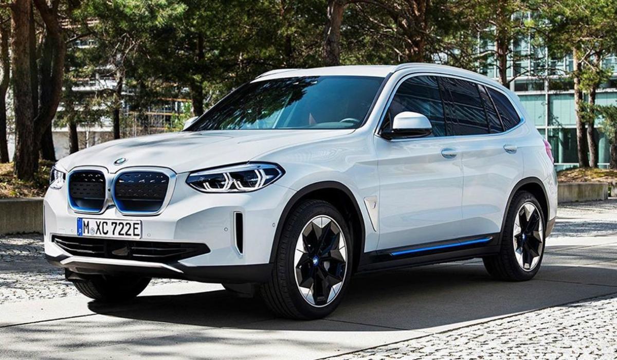 Fotos do BMW iX3 surgem na internet antes da apresentação