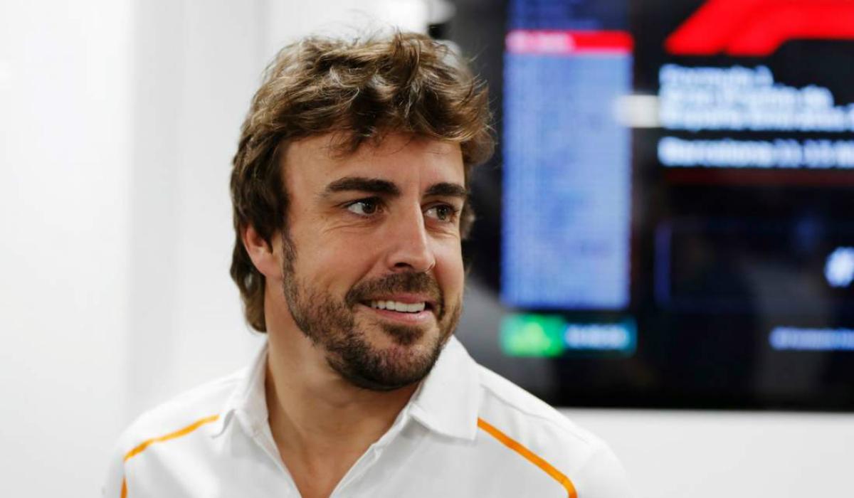 Fernando Alonso volta a estar associado à Fórmula 1