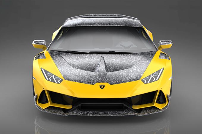 Lamborghini Huracan Evo modificado ganha fibra de carbono e potência
