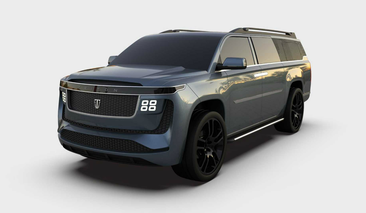 Triton cria SUV elétrico de oito lugares que duplica autonomia dos Tesla