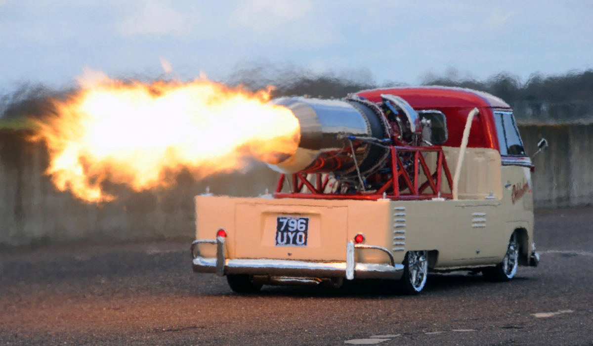 Este Volkswagen Pão de Forma é um foguete que chega quase aos 500 km/h