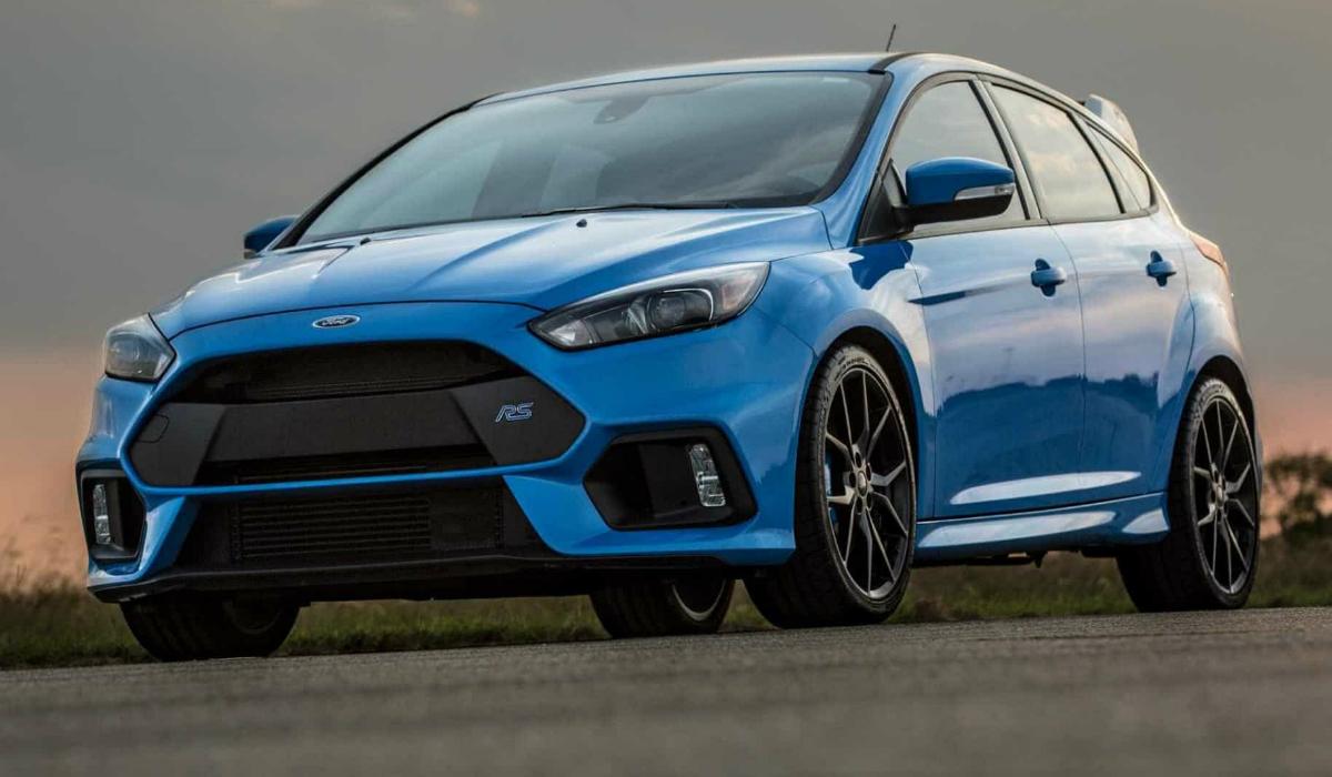 Desportivo Ford Focus RS chega ao fim da linha