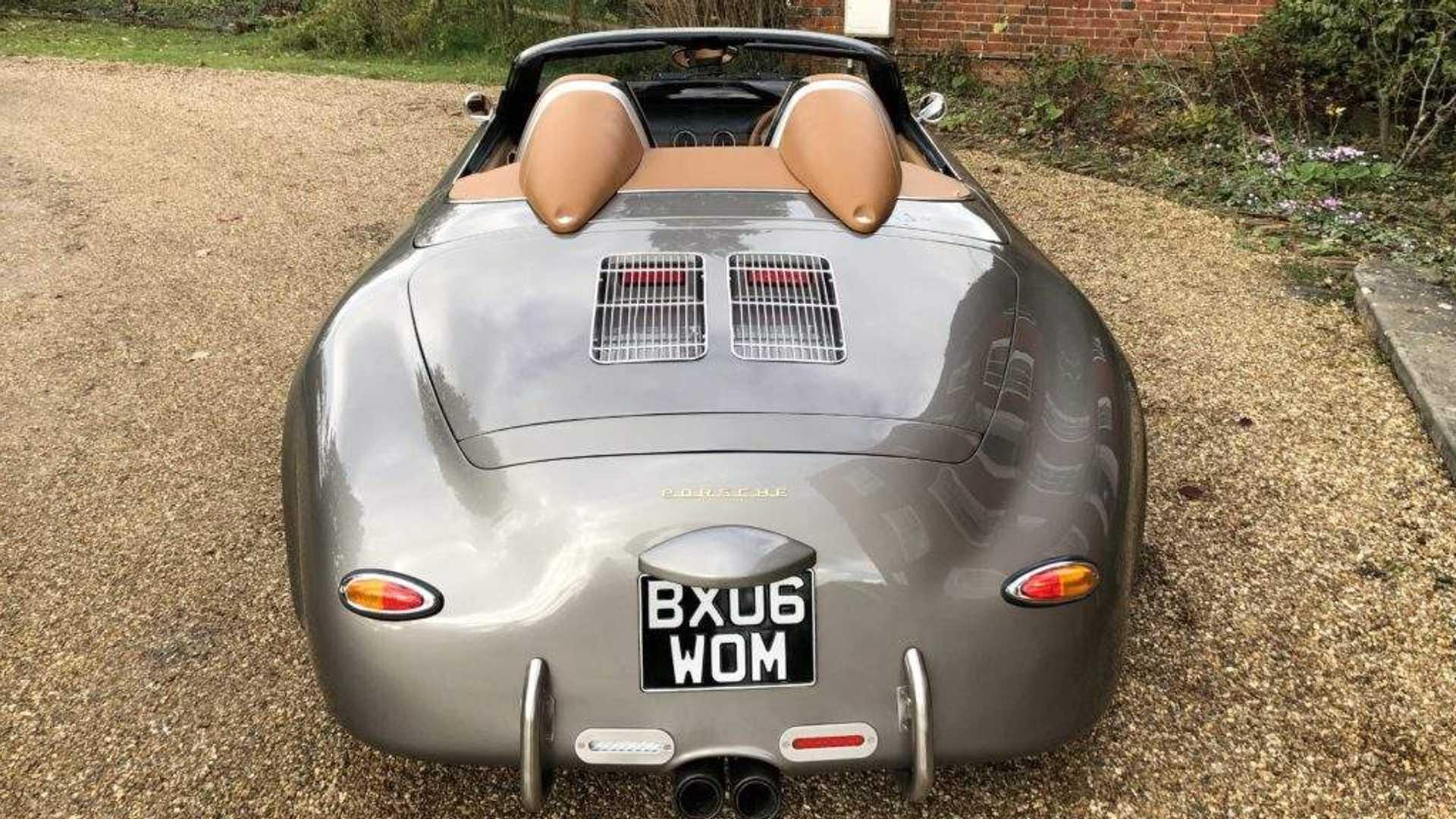 Preparadora britânica cria réplica de Porsche 356 Speedster com base num Boxster