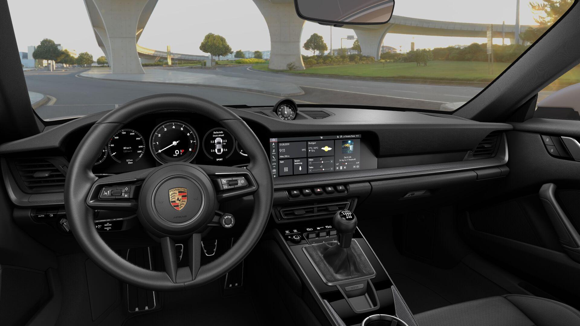 Porsche 911 Carrera S e 4S oferecem caixa manual a pensar nos puristas