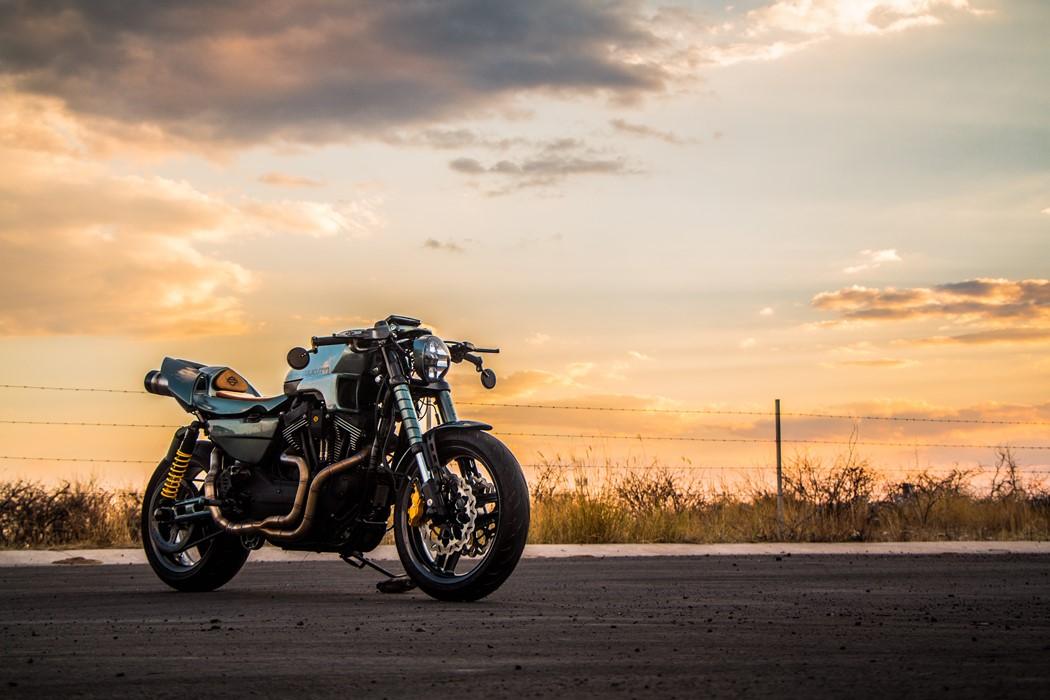Esta agressiva Harley-Davidson venceu concurso afeto à marca