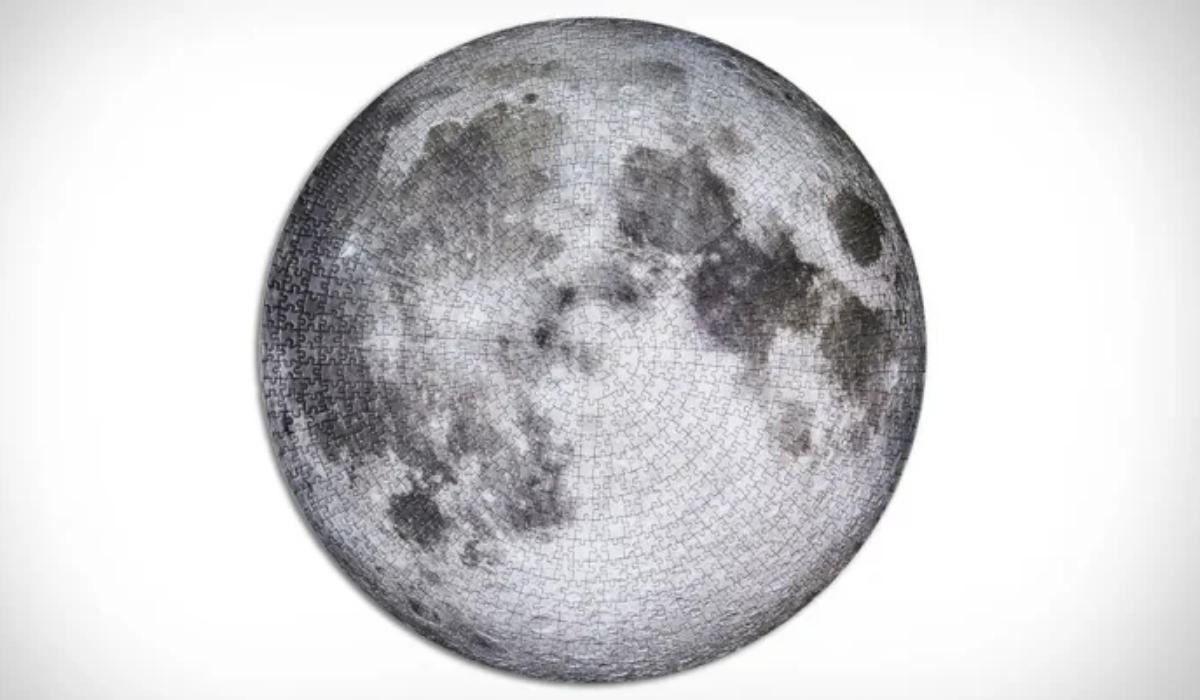 Puzzle presta homenagem à melhor foto lunar de alta resolução da Nasa