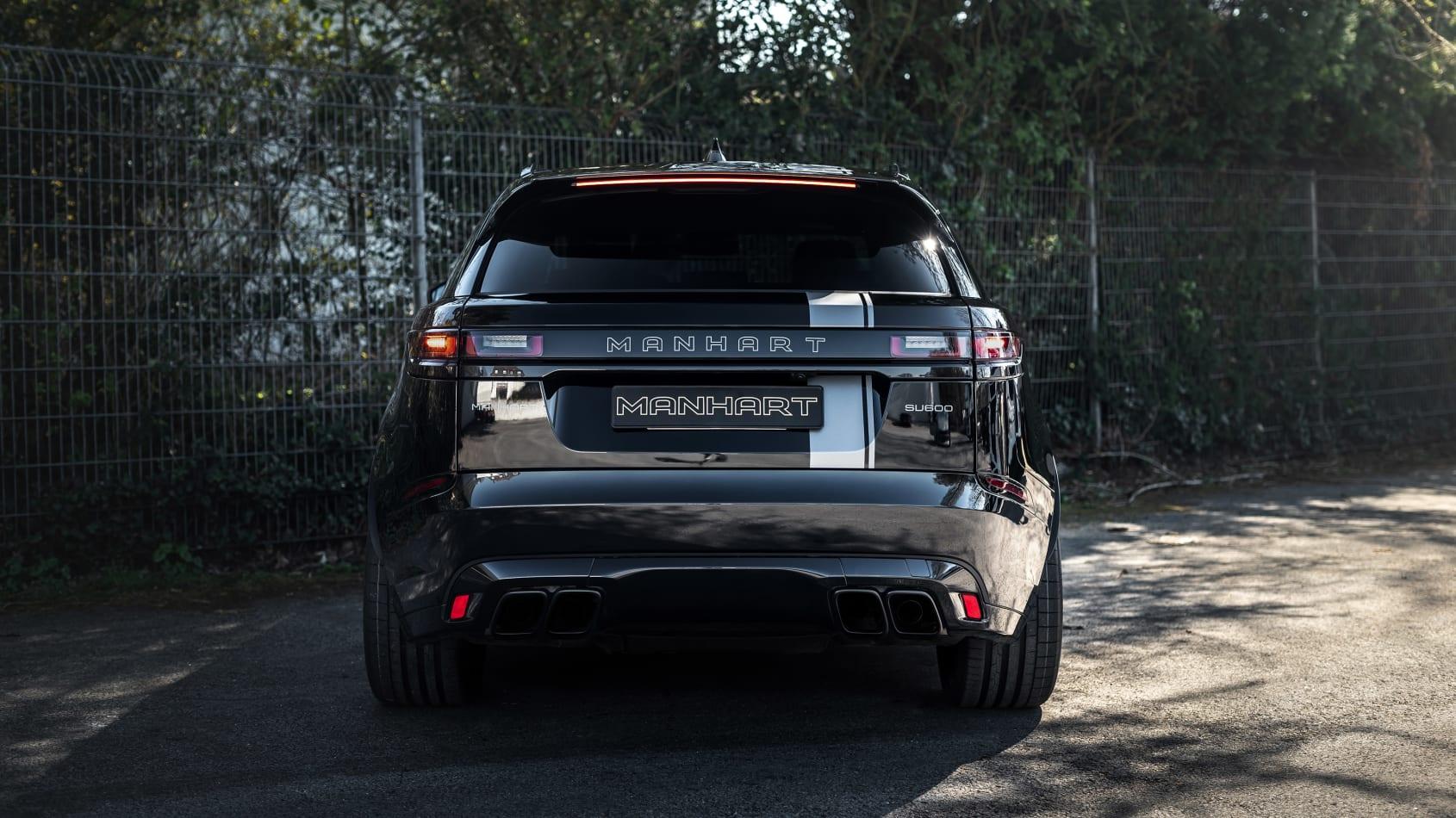 Range Rover Velar modificado chega aos 600 cavalos