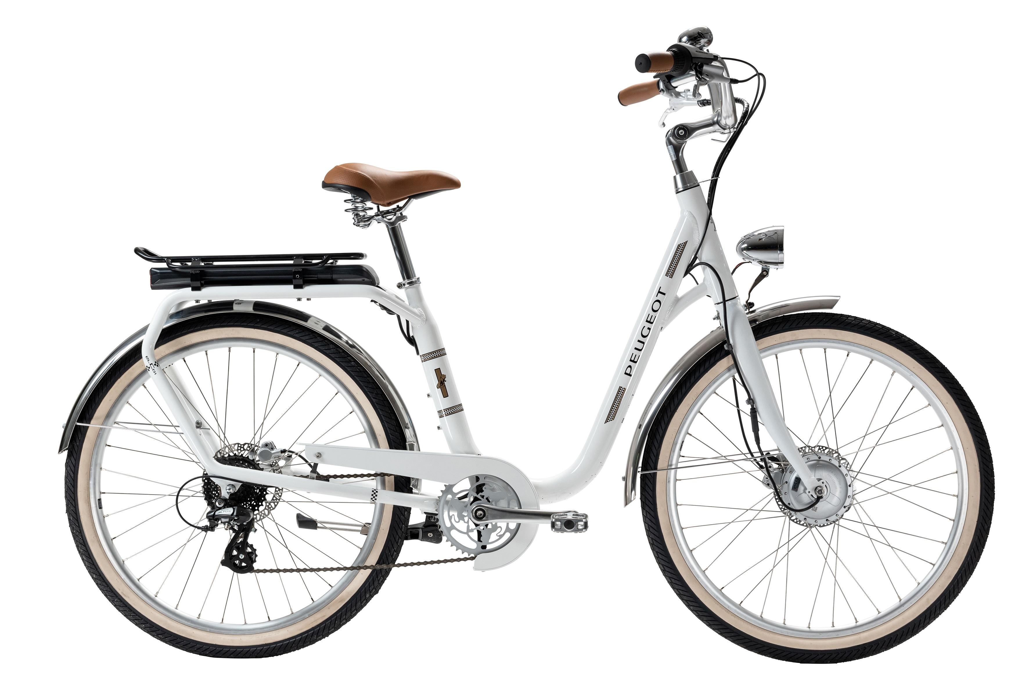 Peugeot lança bicicleta elétrica que garante estilo néo-retro