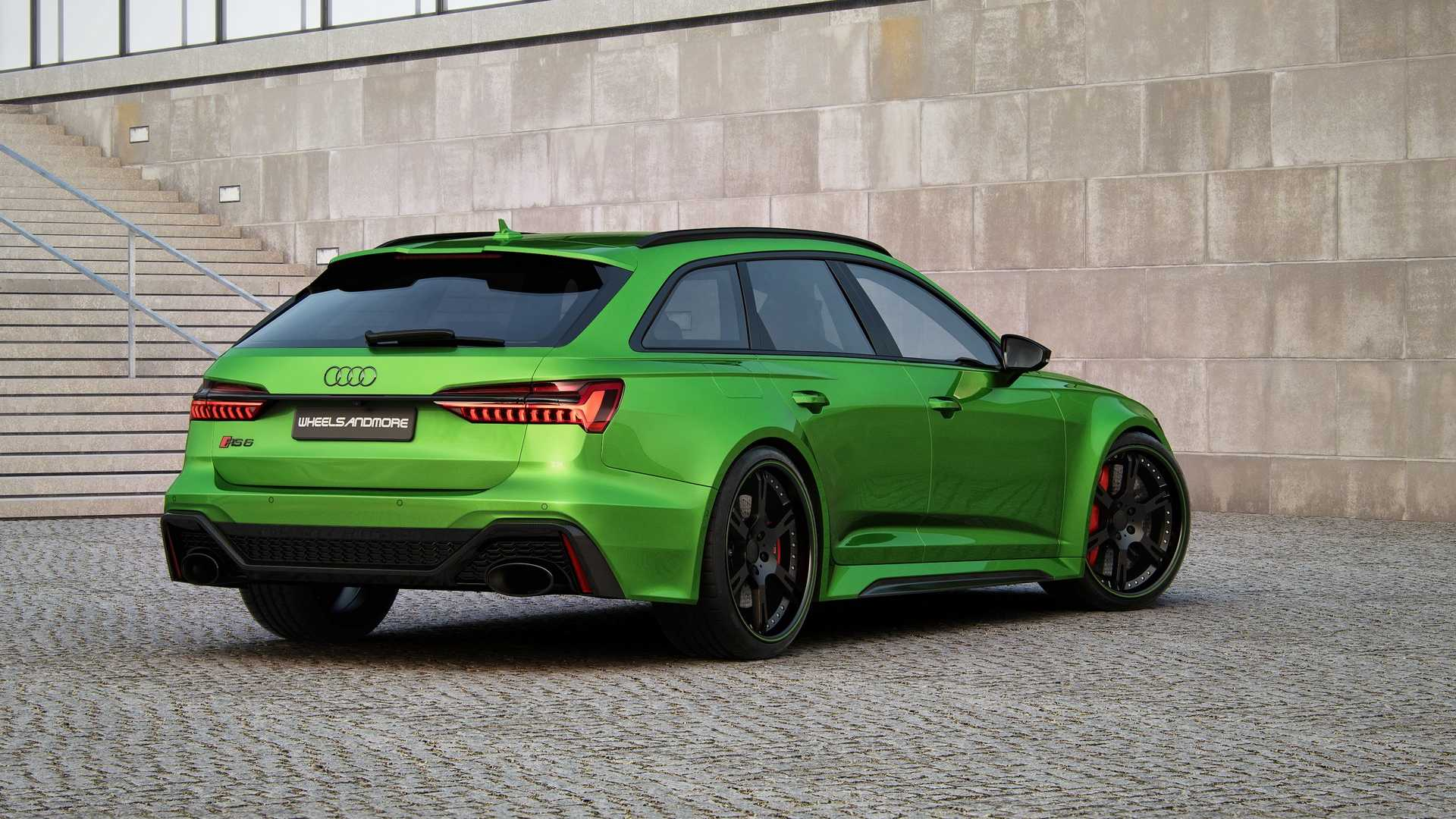 Audi RS 6 Avant modificada fica com potência superior a 1000 cavalos