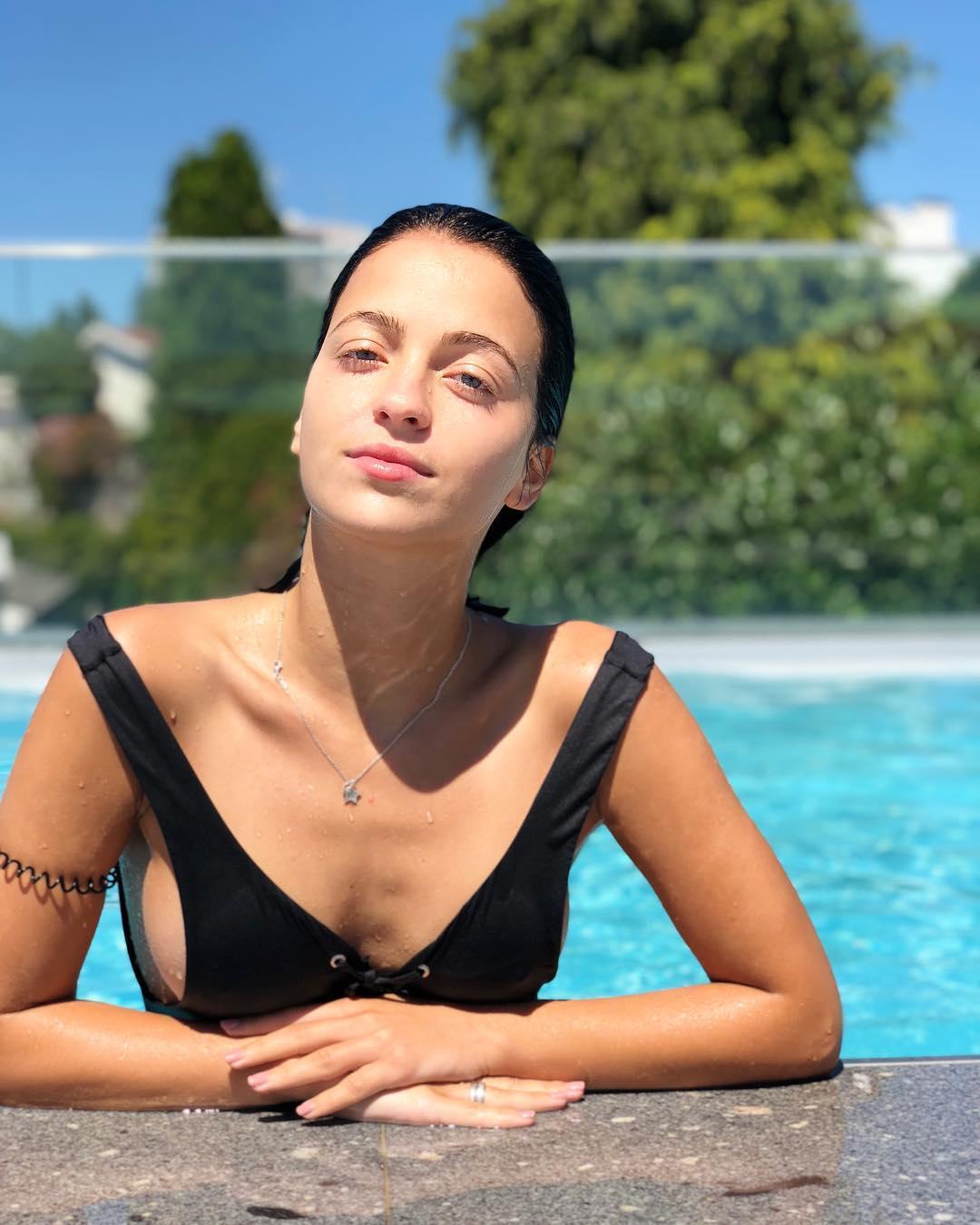 Bruna Quintas e a foto nua no regresso à praia