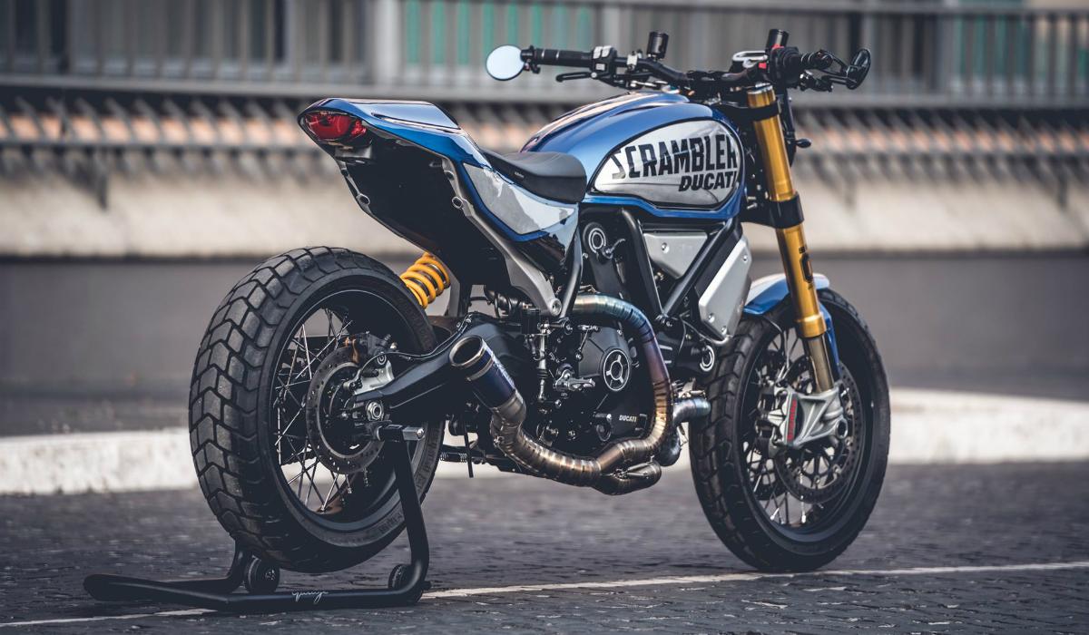 Esta Ducati Scrambler venceu concurso de personalização da marca