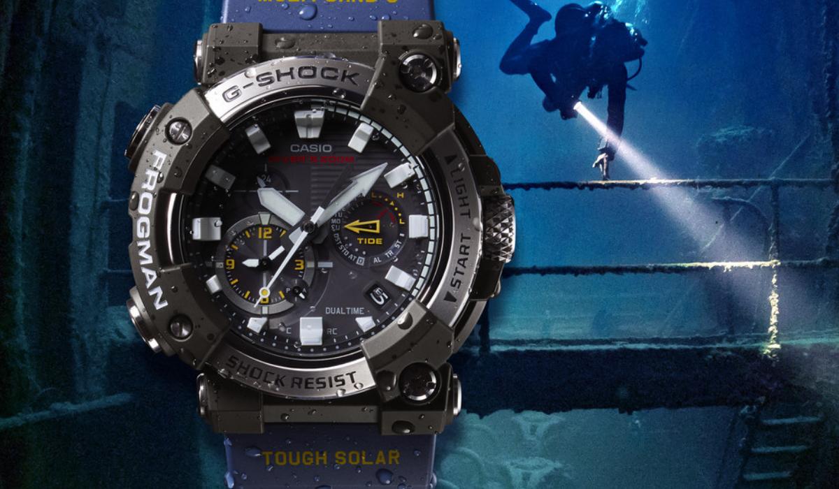 G-Shock apresenta primeiro relógio de mergulho analógico