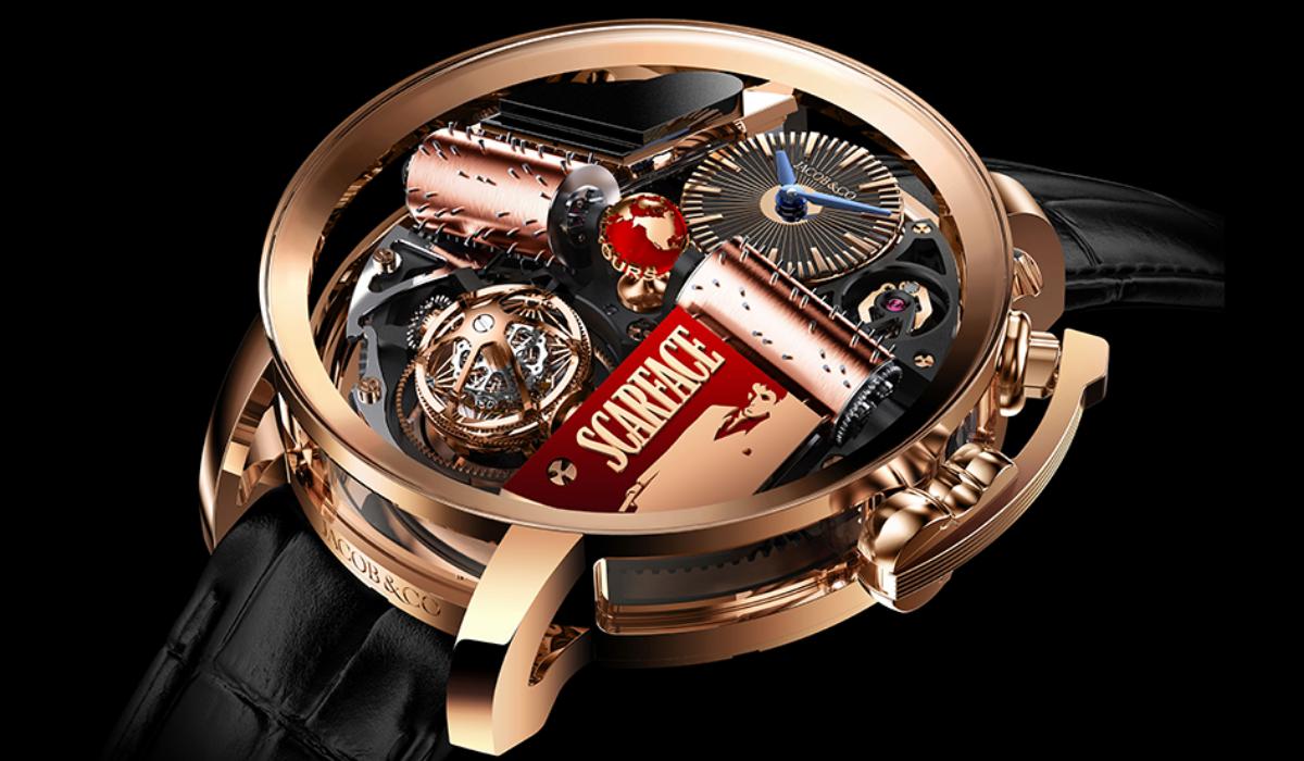 Opera Scarface, o relógio da Jacob & Co. que presta homenagem ao mítico filme dos anos 80