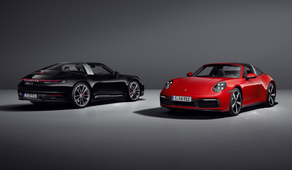 Porsche 911 Targa, o terceiro membro chega a tempo do verão