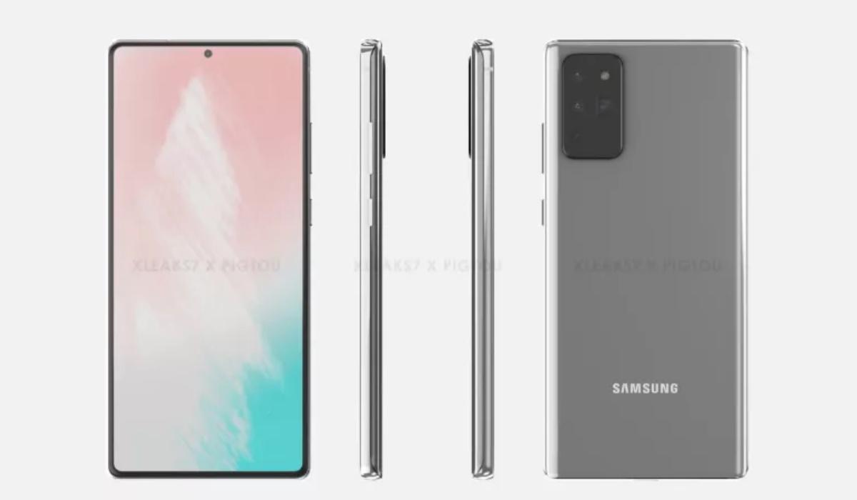 Espreite as primeiras imagens do Galaxy Note 20