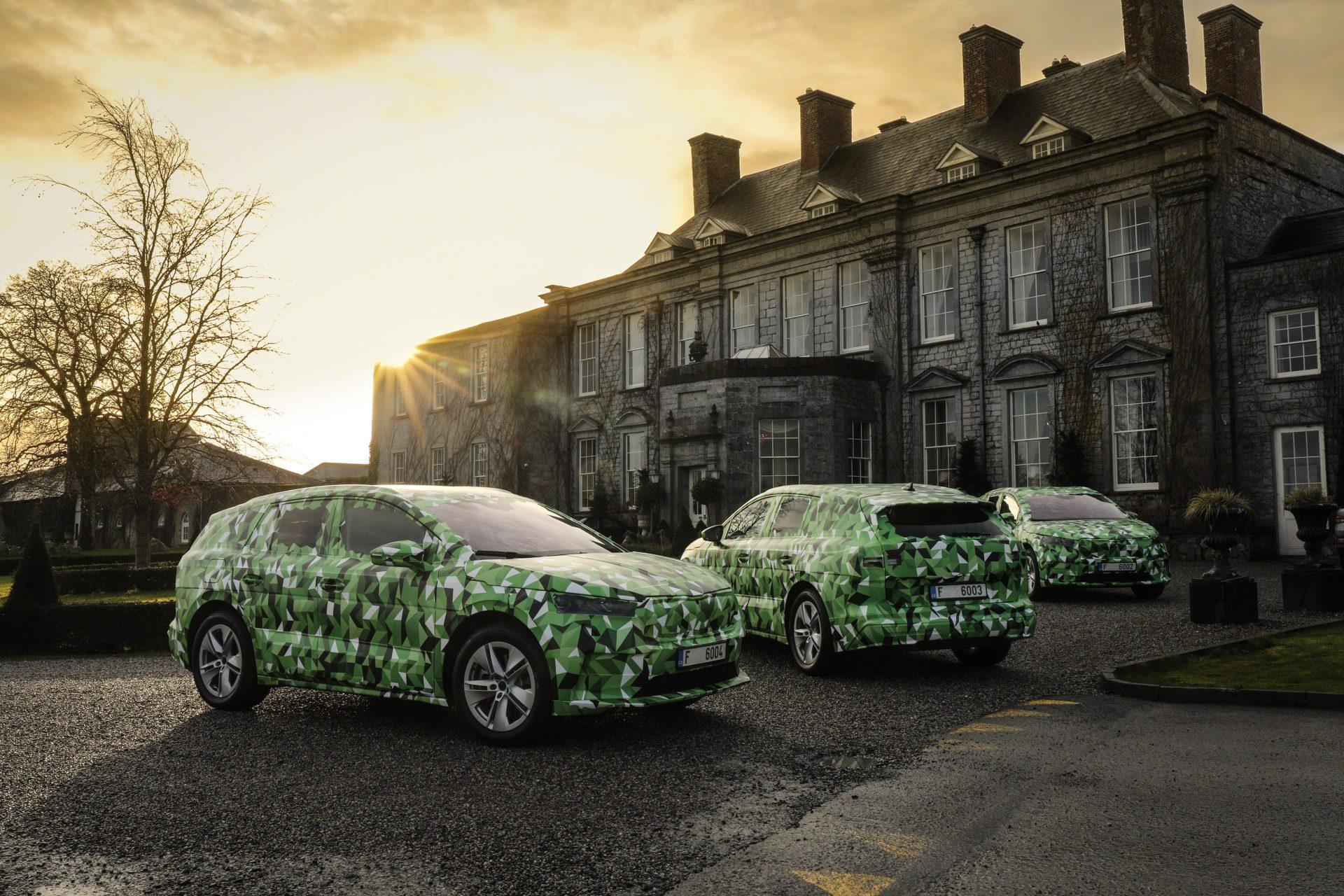 Skoda Enyaq iV, o SUV elétrico que é o carro mais potente de sempre da marca