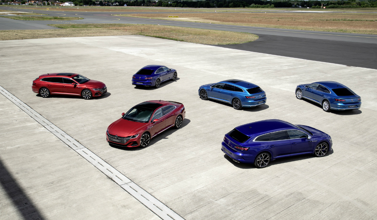Volkswagen Arteon Shooting Brake entre as novidades nesta renovação